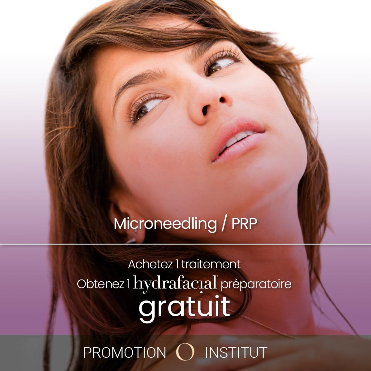 Promotion Microneedling / PRP
